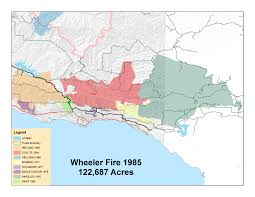 Wheeler Fire 1985 Hiking Trails Day Hikes Biking Beaches Walks